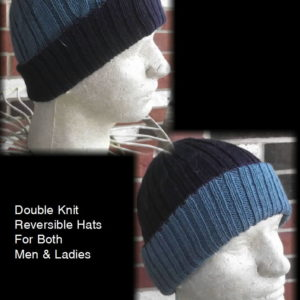 Hunter Hat Double knit Reversible